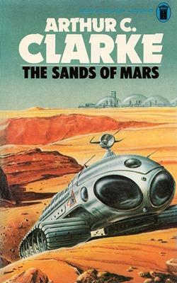 Le sabbie di Marte di Arthur C. Clarke (edizione britannica)
