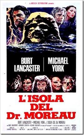 L'isola del dr. Moreau di Don Taylor