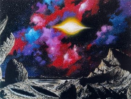 "Steve R Dodd ""Spinning Sun"" (1980s)"