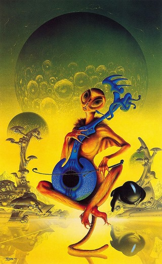 jim burns - space opera