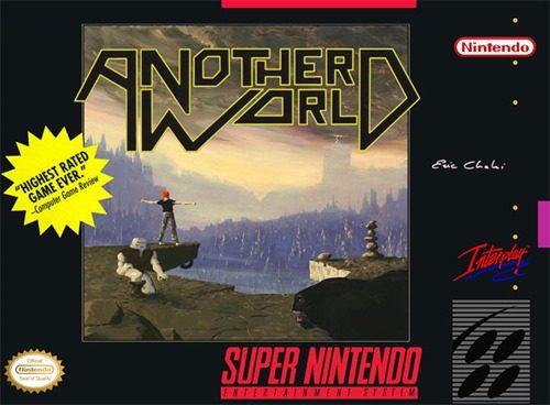 ANOTHER WORLD. Un grande classico dei videogiochi Sci-Fi