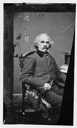 2 - Nathaniel-Hawthorne-photographed-by-Mathew-Brady-circa-1855-1865